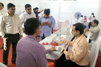 Rajesh LifeSpaces - Blood Donation Camp - February 2016