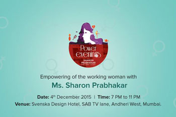 Power Evenings - Svenska Design Hotel, Andheri (W), 4th December 2015