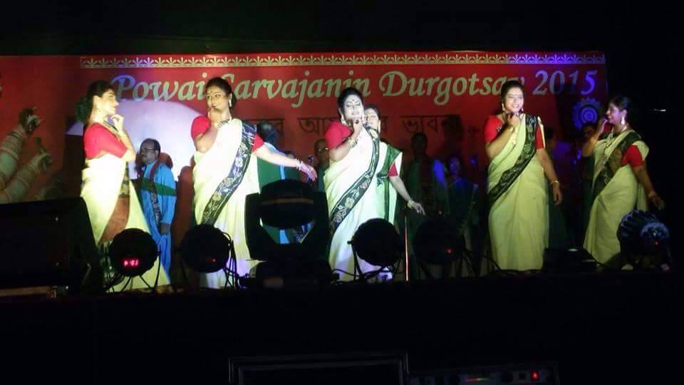 Durga Pooja at Powai Bengali Welfare Association - Hiranandani Gardens Powai