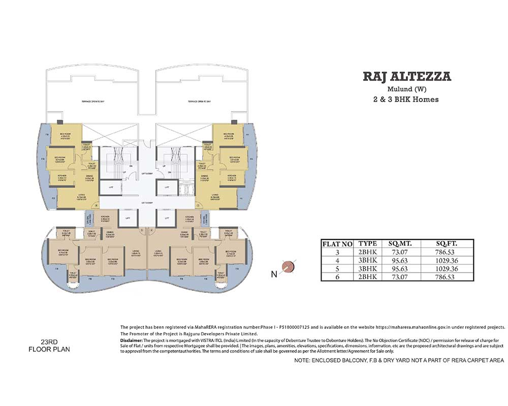 2 3 Bhk Flats For Sale In Mulund West Upcoming Residential