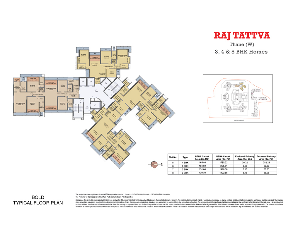 Raj Tattva Floor Plan Bold