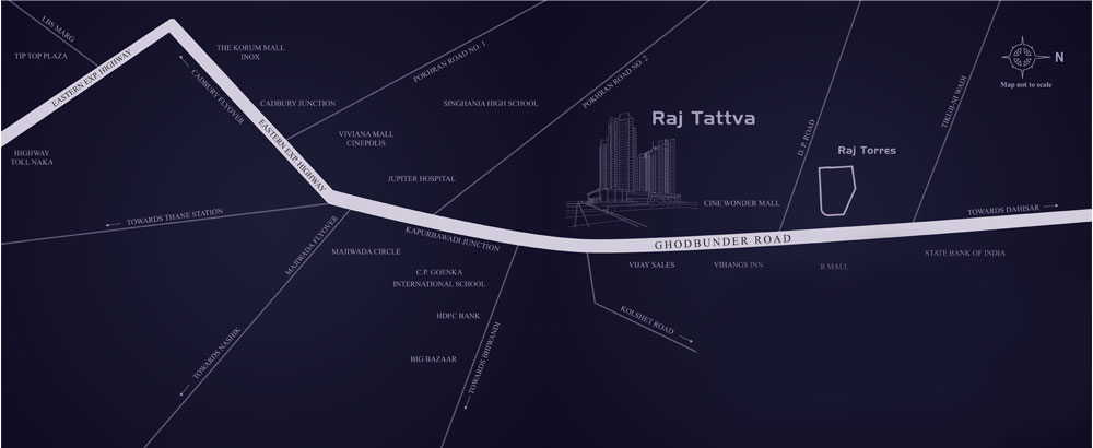 Raj Tattva Location Map